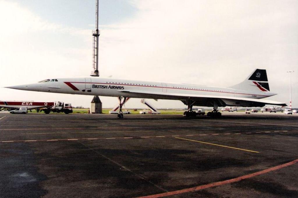 Concorde v Praze