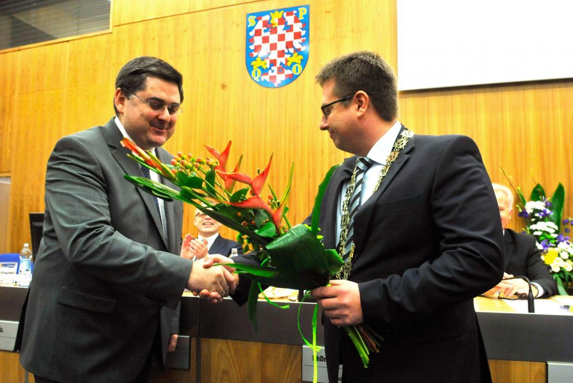 Martin Novotný a Martin Major