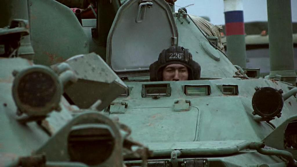 Ruské jednotky na Krymu