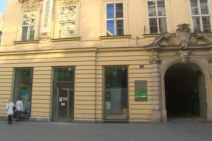 Knihovna Jiřího Mahena v centru Brna