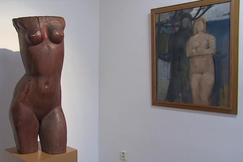 Výstava malíře a sochaře Antonína Širůčka