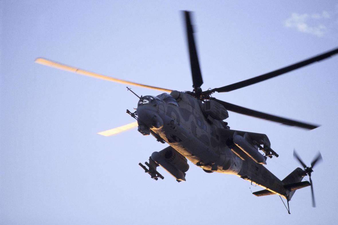Vrtulník ruské armády