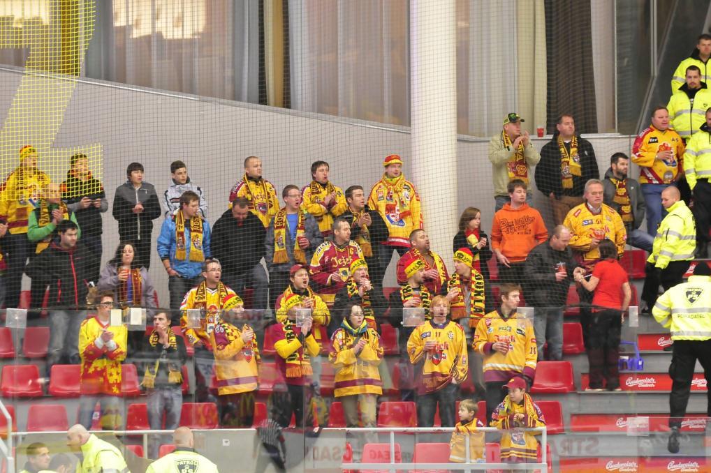 Fanoušci hokejistů Jihlavy