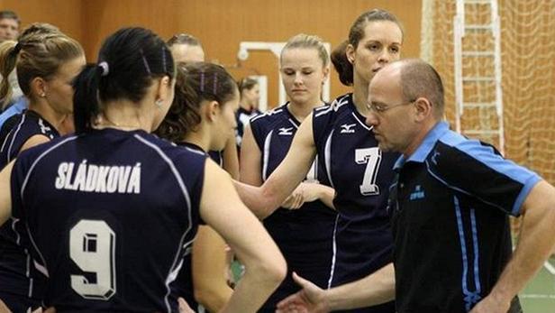 Volejbalistky Olympu Praha