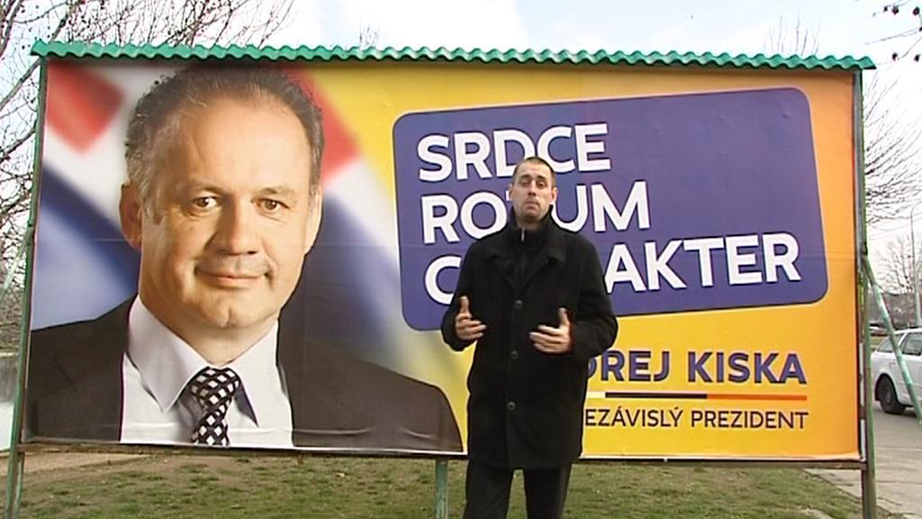 Předvolební kampaň Andreje Kisky