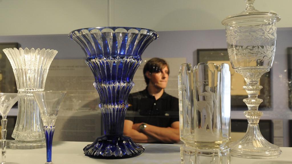 Výstava harrachovského skla