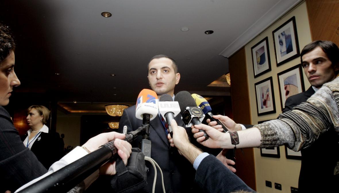 David Kezerašvili v roce 2008