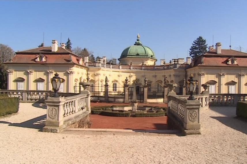 Barokní zámek Buchlovice