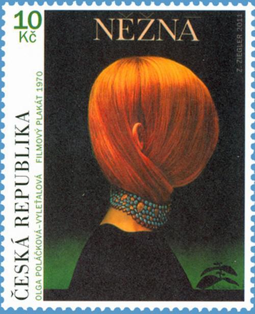 Filmový plakát na poštovní známce