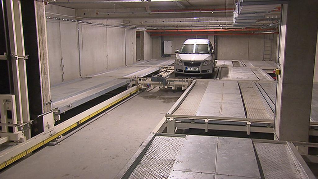 Automatický parkovací dům