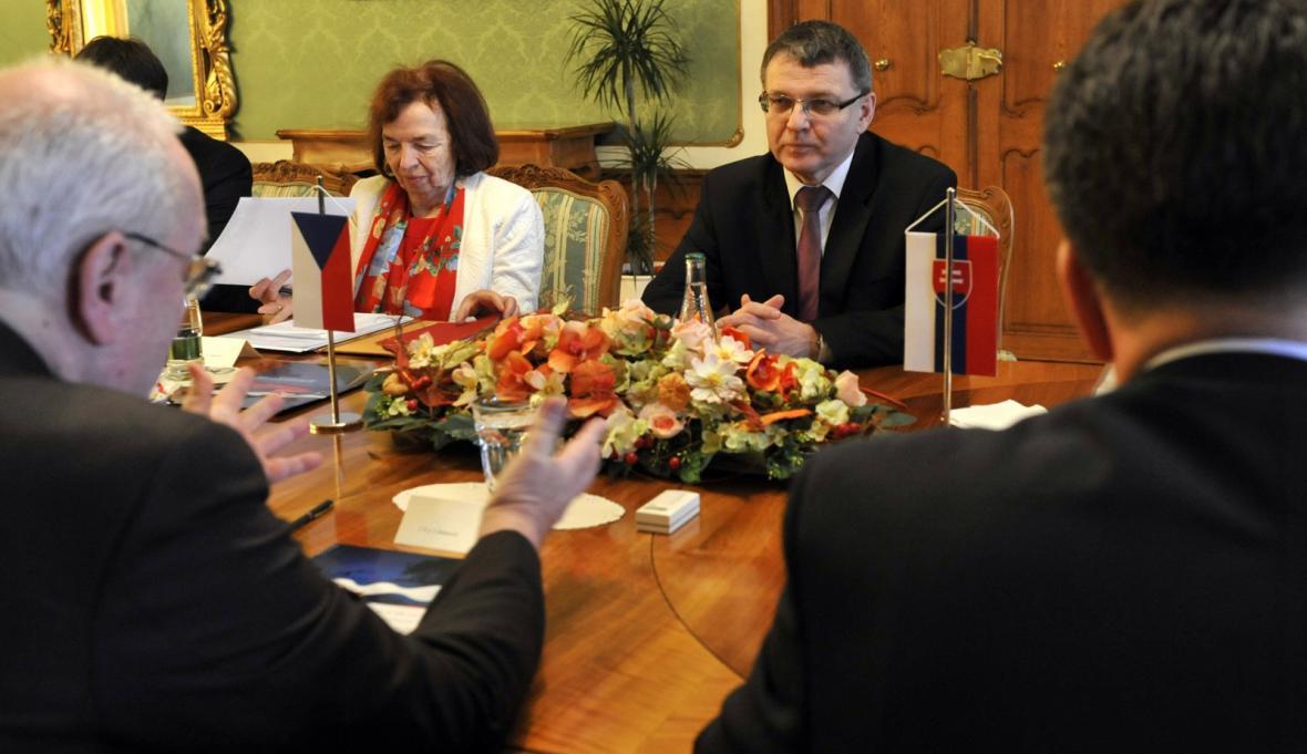 Návštěva Lubomíra Zaorálka na Slovensku