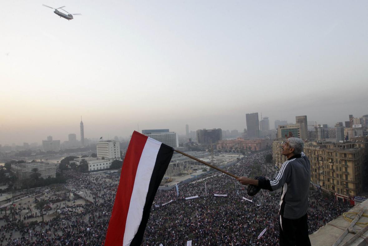 Manifestace v Káhiře
