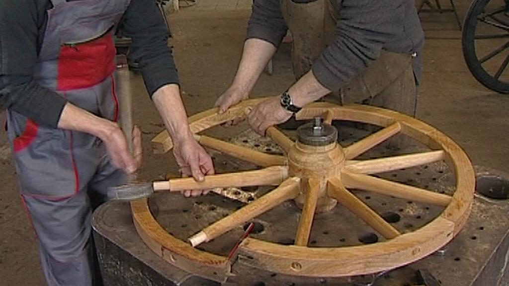 Výroba kočárového kola