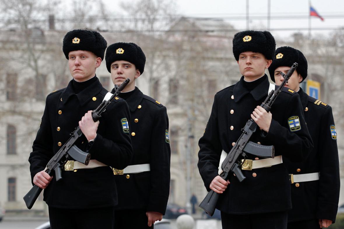 Námořníci v Sevastopolu