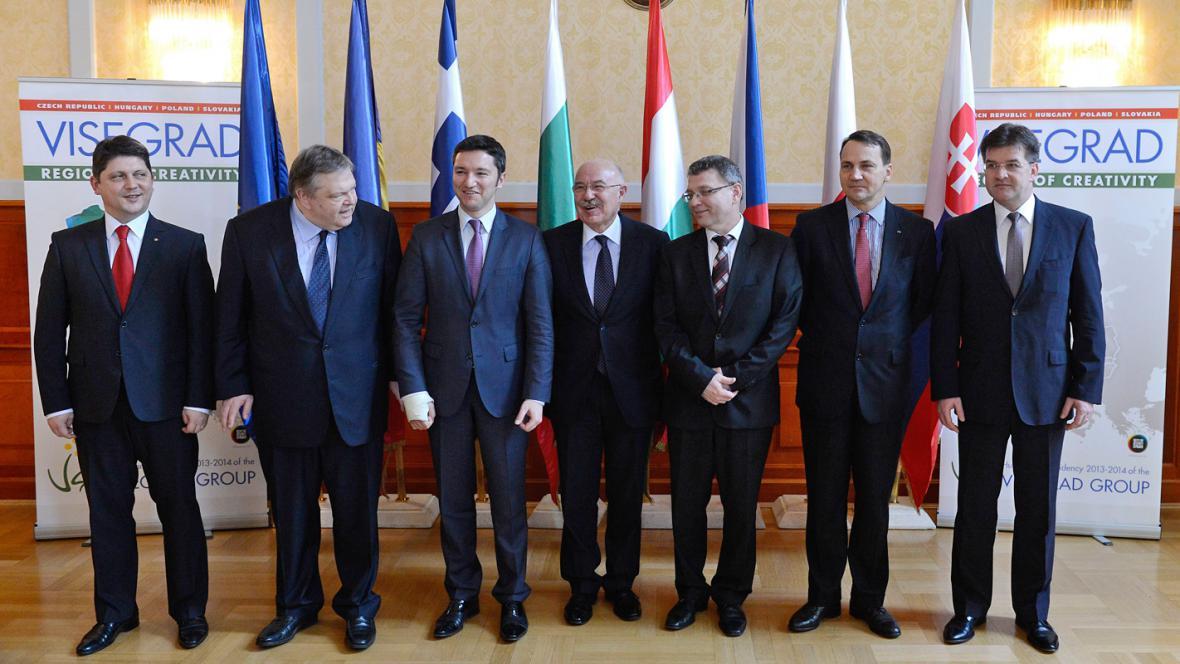 Budapešťské jednání ministrů V4