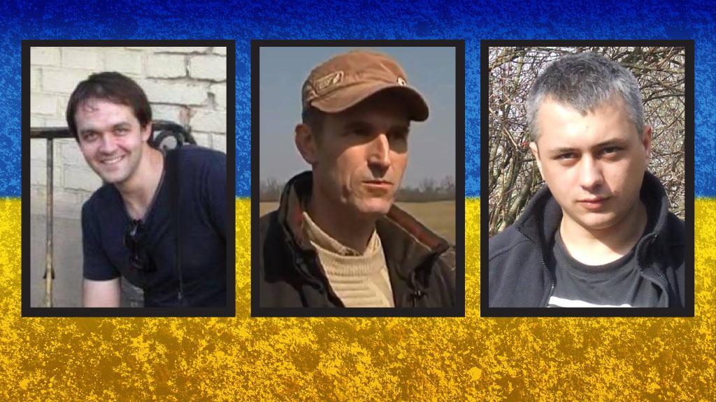 Oběti bojů na Ukrajině