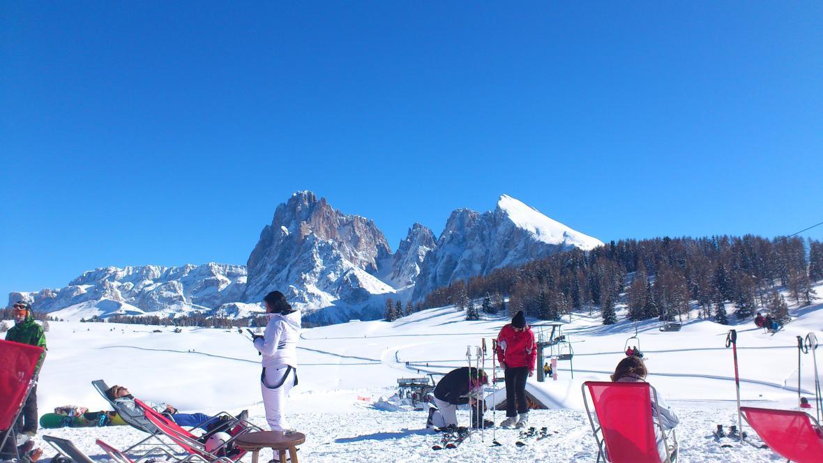 Středisko Alpe di Siusi
