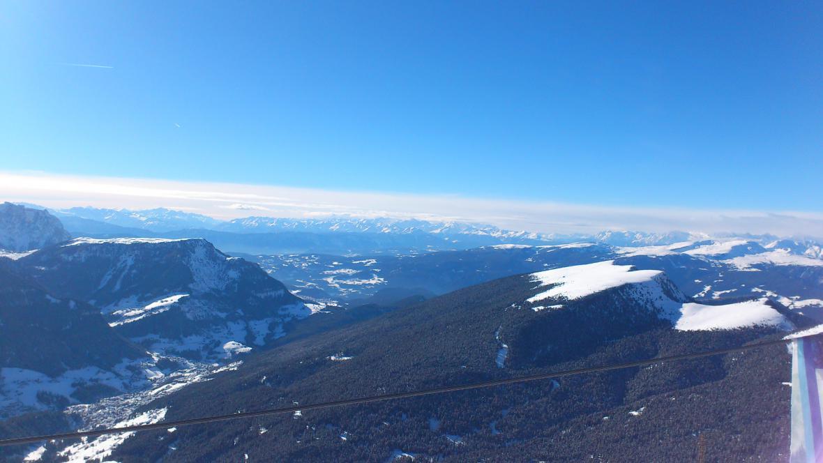 Lyžařská oblast Val Gardena