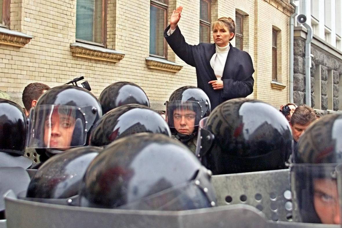 Julija Tymošenková v září 2002