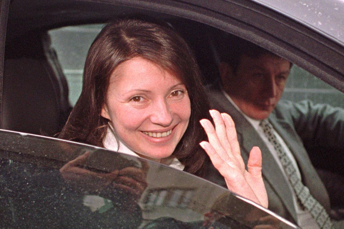 Julija Tymošenková v lednu 2001
