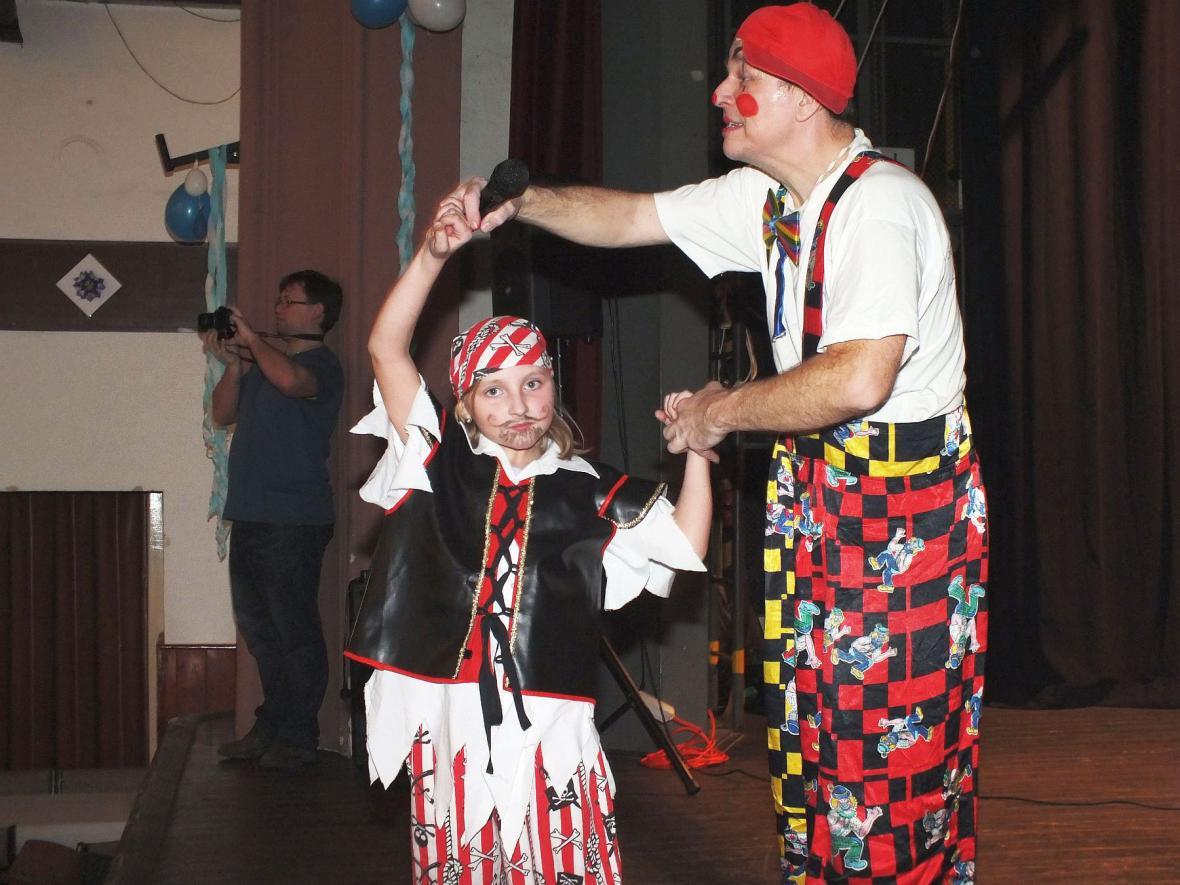 Dětský karneval v Boskovicích