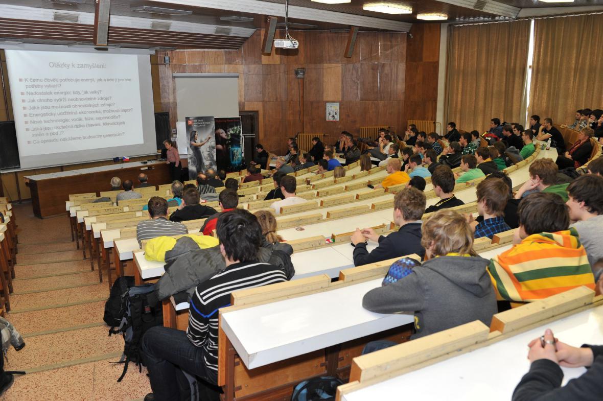 Přednáška Dany Drábové na Univerzitě Pardubice