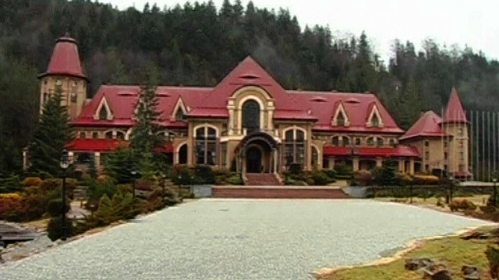 Janukovyčův palác v Karpatech