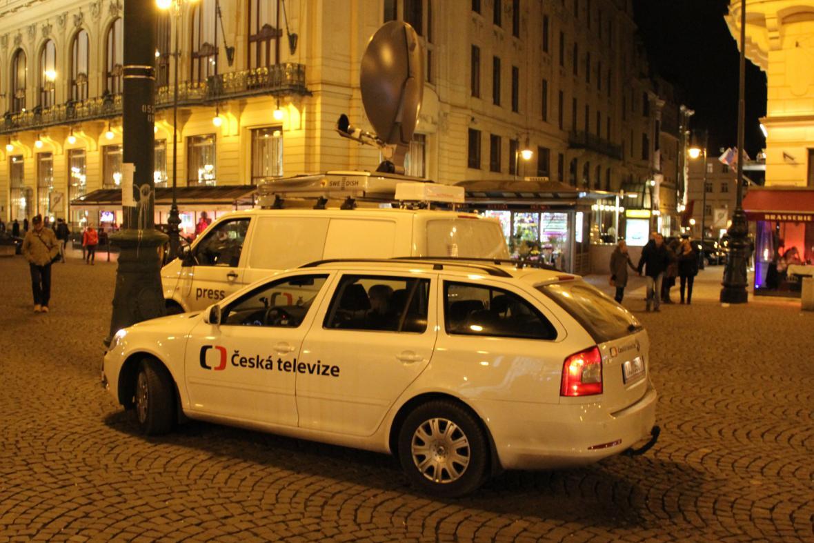 Přenosové vozy České televize