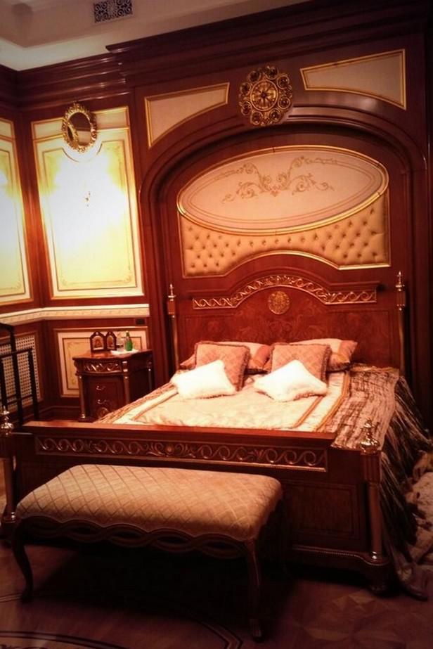 V prezidentově ložnici