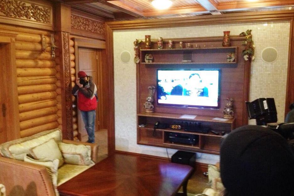 Interiéry Janukovyčova prezidentského sídla