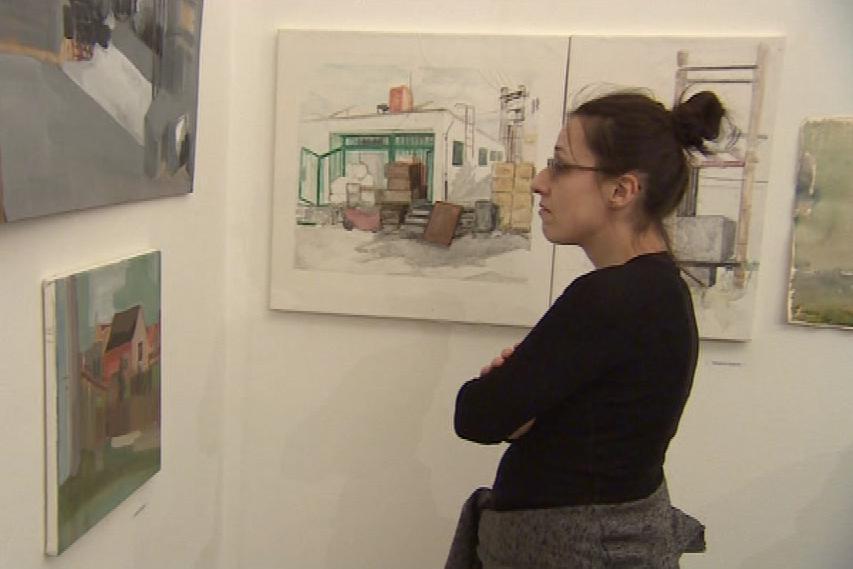 Součástí výstavy jsou i malby Bedřichovic