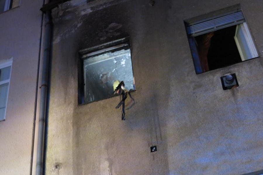 Ohnisko požáru bylo v prvním patře
