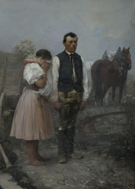 Augustin Němejc, Beznadějná láska, 1890