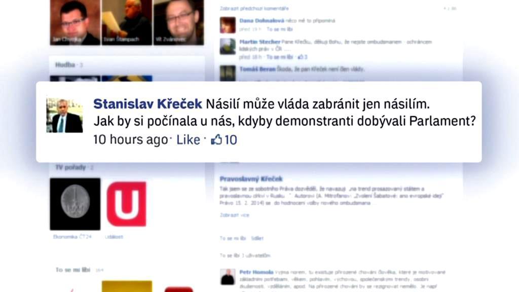 Komentář zástupce ombudsmana Stanislava Křečka
