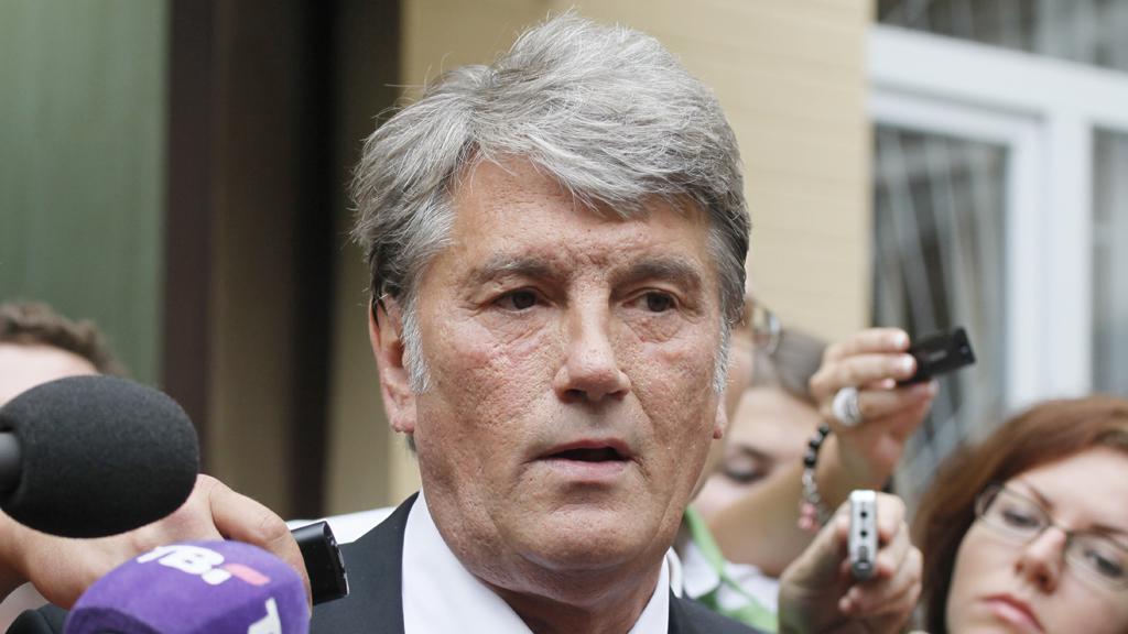 Viktor Juščenko vypovídal v procesu s Tymošenkovou