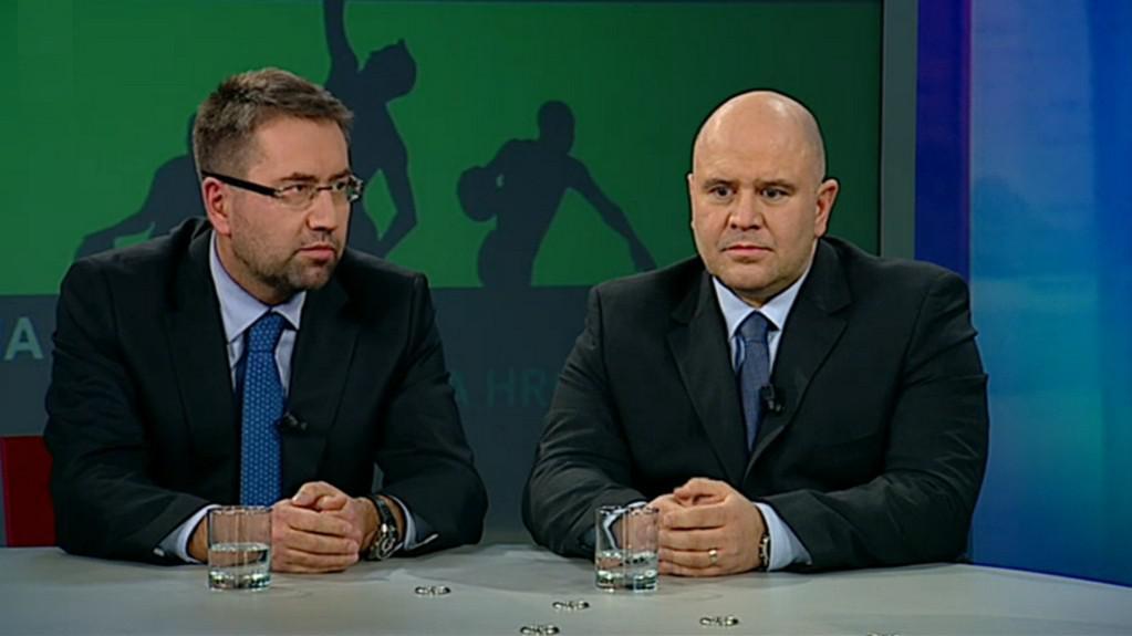Petr Šafarčík (vlevo) a Libor Adámek