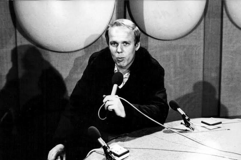 Radomír Kos při natáčení Manželského pětiboje (1984)
