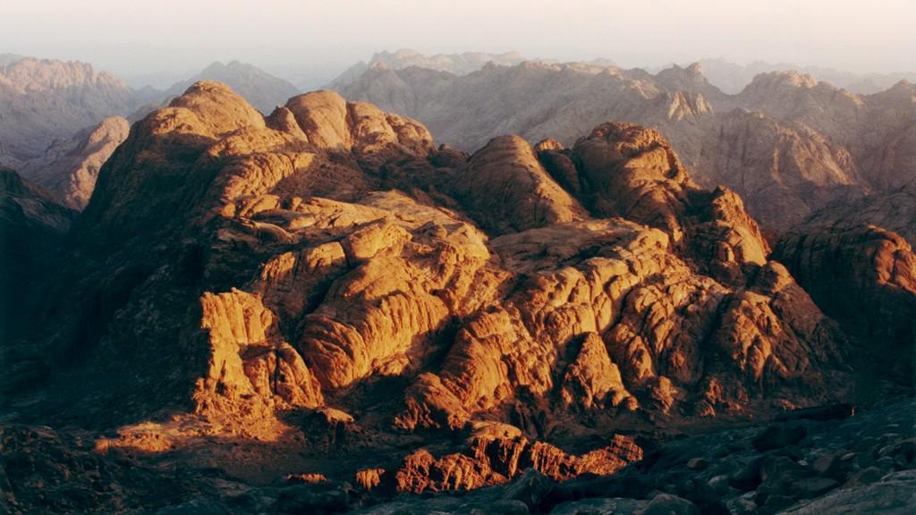 Pohoří Sinaj v Egyptě