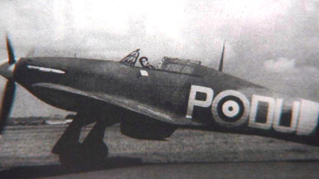 Miroslav Štandera jako letec RAF