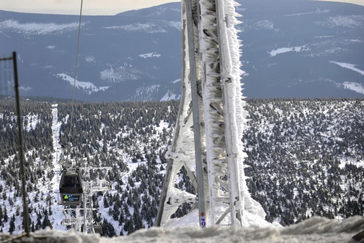 Lanovka na Sněžku
