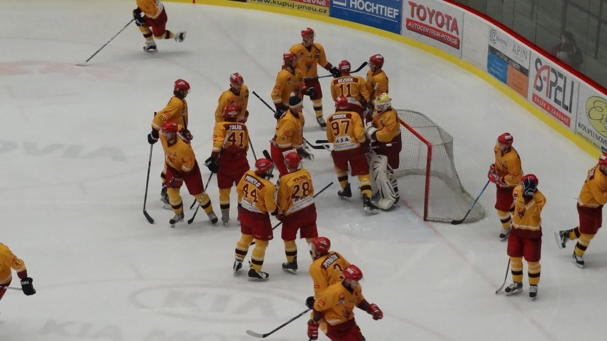 Radost hokejistů Jihlavy