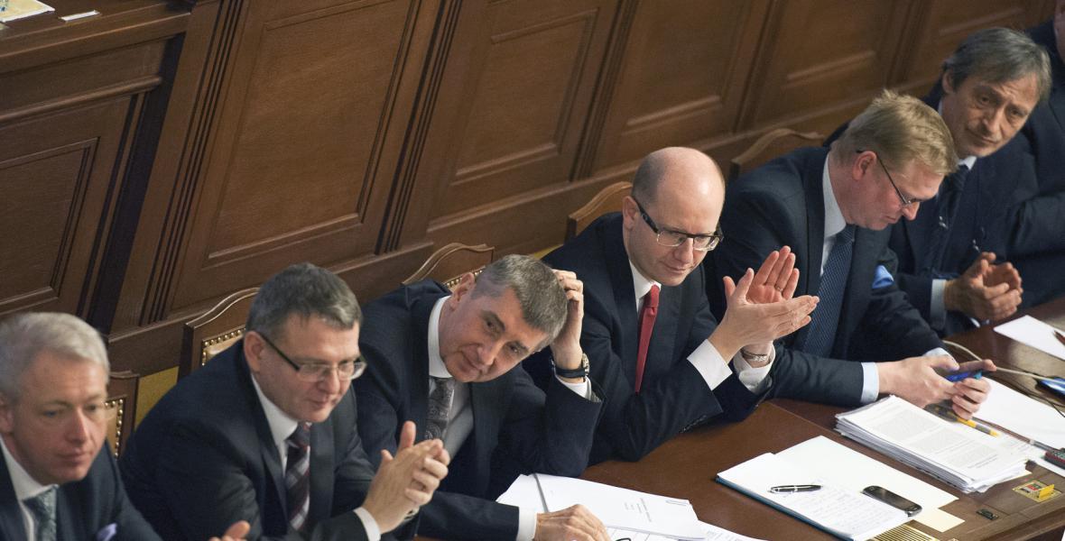 Jednání sněmovny o vyslovení důvěry vládě Bohuslava Sobotky (ČSSD)