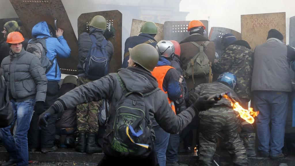 Nepokoje v Kyjevě