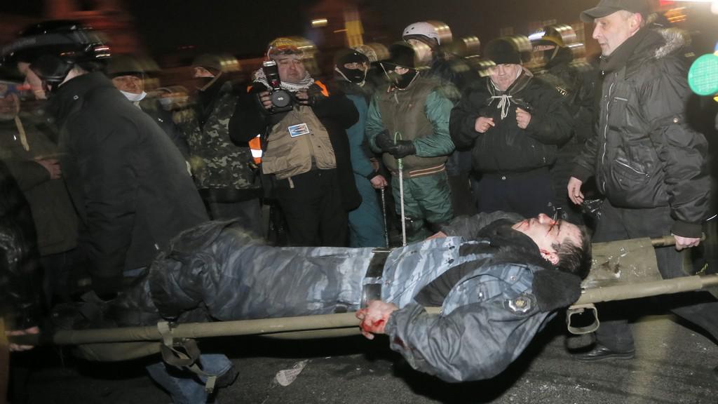 Zranění v Kyjevě