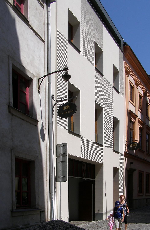 Dostavba hotelu Arigone v Olomouci