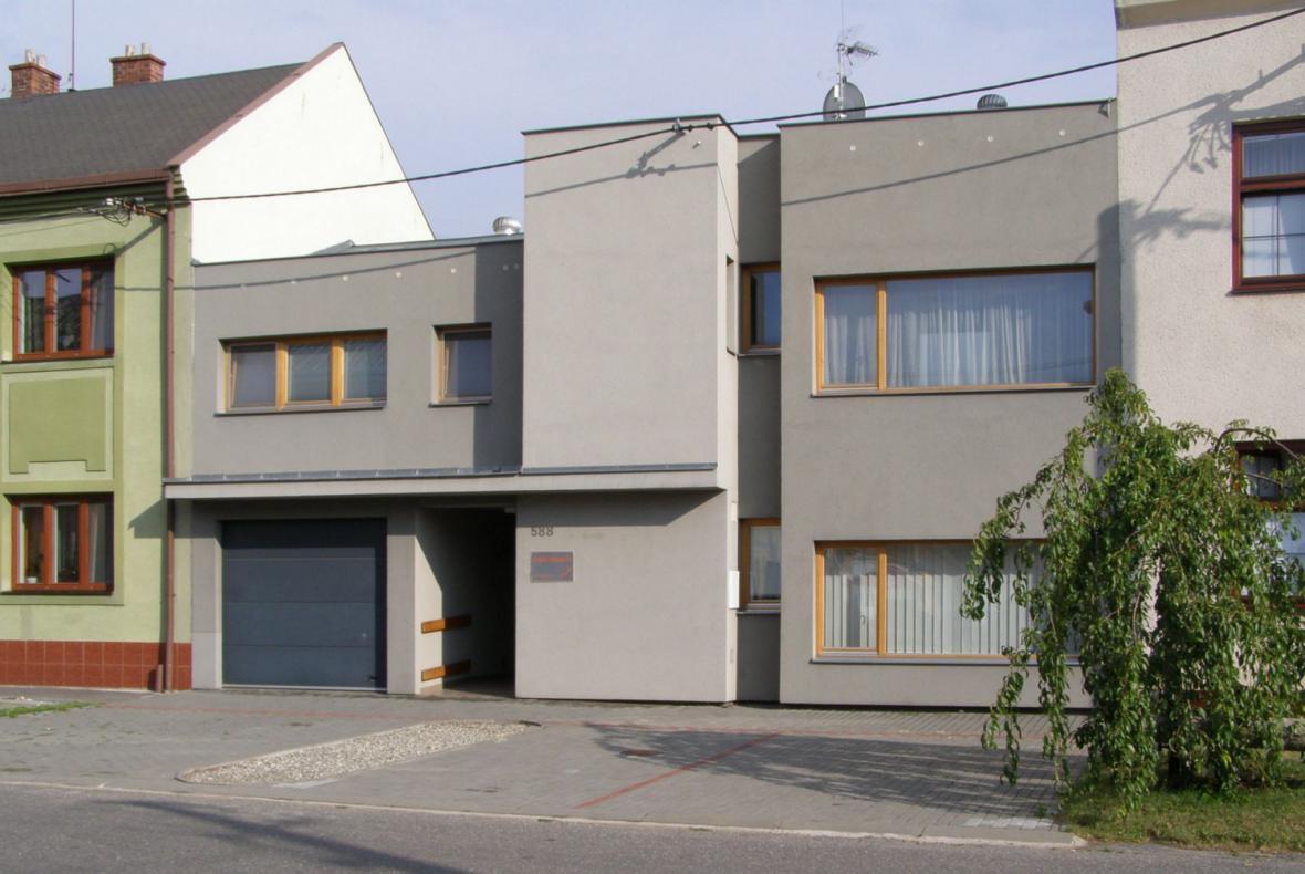 Rodinný dům s ordinací v Holešově