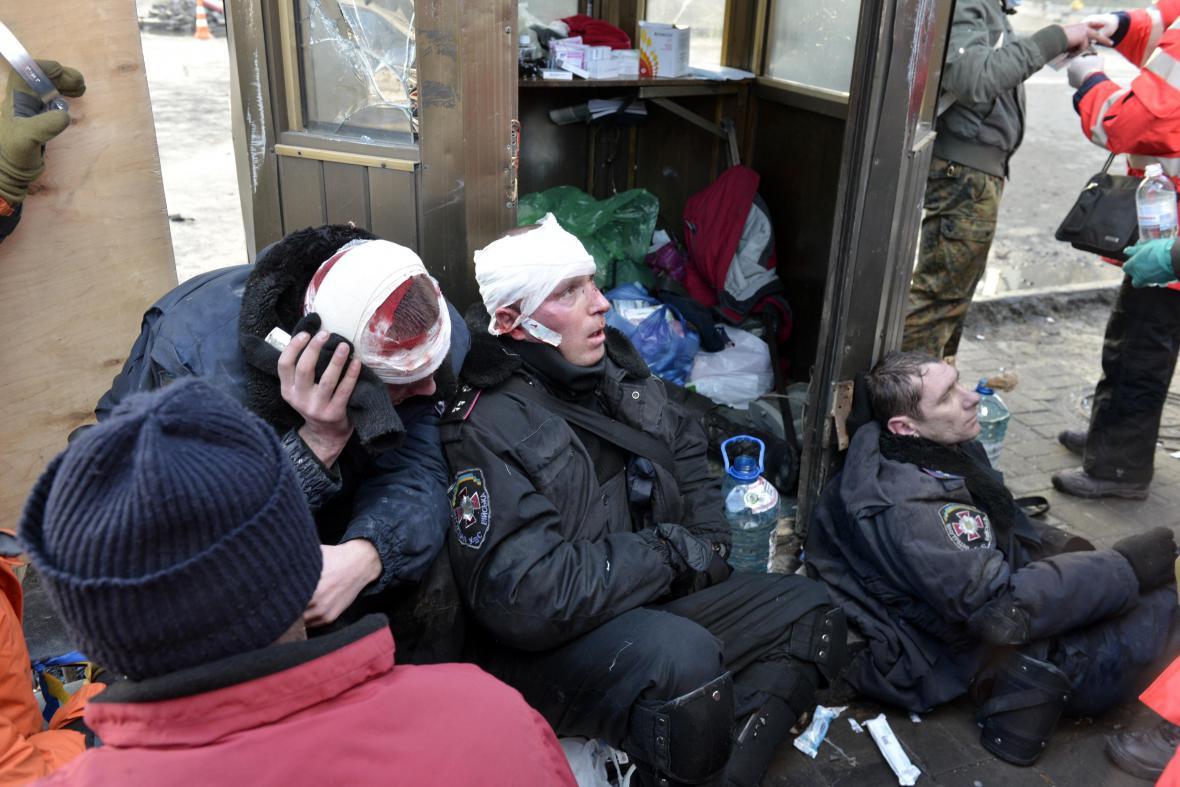 Nová erupce násilí v Kyjevě