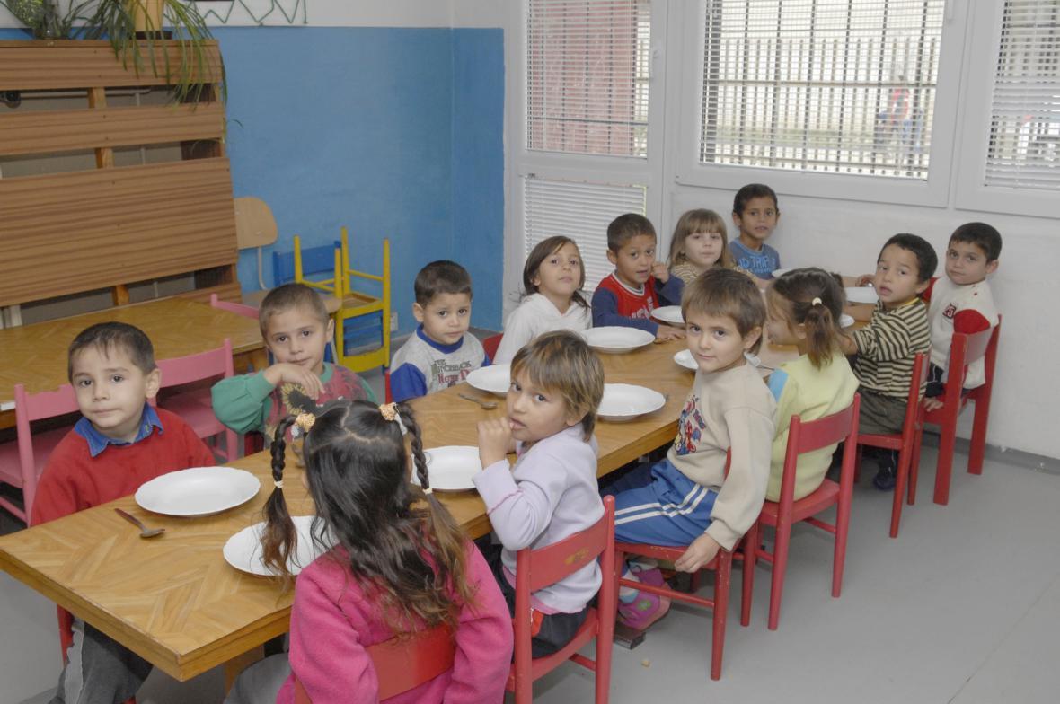 Světlejší stránka Luníku IX - mateřská škola