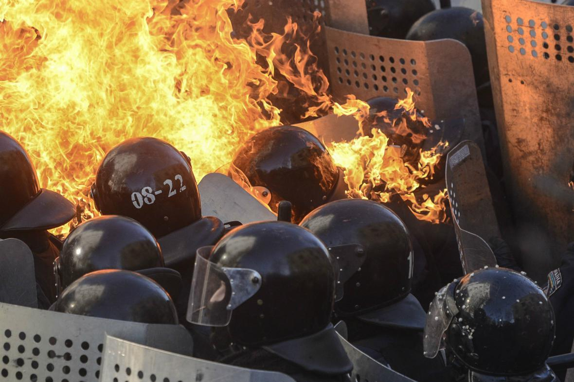 Střety v Kyjěvě