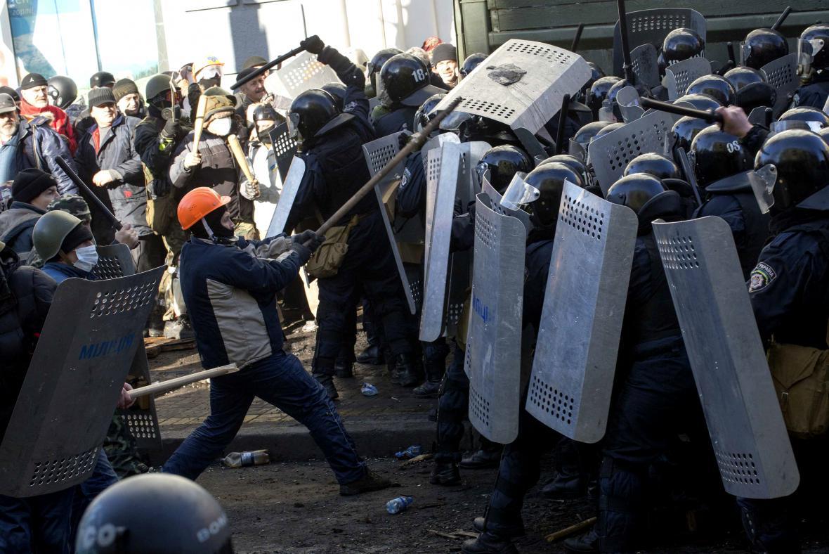 Střety v Kyjevě